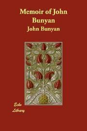 image of Memoir of John Bunyan
