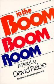 image of In the Boom Boom Room: Revised to the Original Two Acts