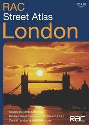 RAC London Street Atlas
