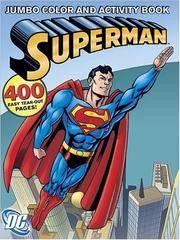 Superman Jumbo Color  Activity Book