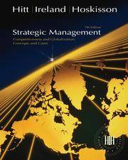 image of Strategic Management: Concepts and Cases (with InfoTrac)