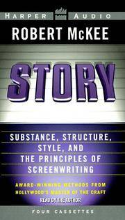 image of Story: Substance, Structure, Style and The Principles of Screenwriting