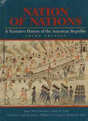 Nation of Nations: A Narrative History of the American Republic