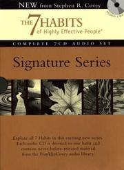 image of The 7 Habits of Highly Effective People - Signature Series: Insights from Stephen R. Covey