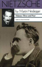 image of Nietzsche: Volumes Three and Four: Volumes Three and Four