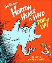 image of Horton Hears a Who Pop-up!