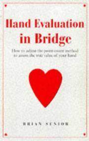 Hand Evaluation in Bridge: How to Adjust the Point-Count Method to Assess the True Value of Your...