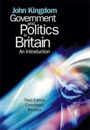 image of Government and Politics in Britain: An Introduction
