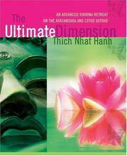 The Ultimate Dimension: An Advanced Dharma Retreat on the Avatamsaka and Lotus Sutras (Audio Cassette).