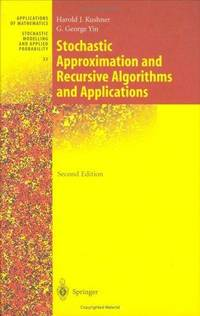 image of Stochastic Approximation and Recursive Algorithms and Applications (Stochastic Modelling and Applied Probability) (v. 35)