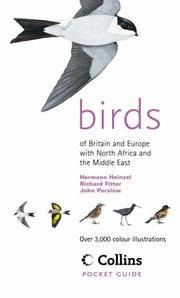 Birds of Britain and Europe. Collins Pocket Guide