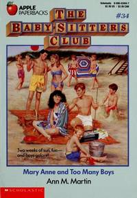 image of Mary Anne and Too Many Boys (Baby-Sitters Club, 34)