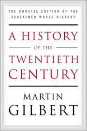 A History Of the Twentieth Century