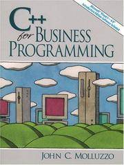 C++ for Business Programming