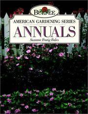Burpee American Garden Series: Annuals by  Suzanne Frutig Bales  - Paperback  - 1991  - from Warrens Books (SKU: Alibris.0005952)