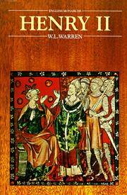 Henry II (Second) by  W. L Warren - Paperback - 5th Printing - 1998 - from 50000books.com (SKU: 004335)