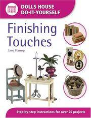 Finishing Touches : Dolls House Do-It-Yourself