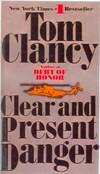 image of Clear and Present Danger (Jack Ryan Novels)