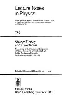 Gauge Theory and Gravitation: Proceedings of the International Symposium on Gauge Theory and...