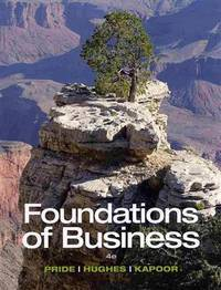 Bundle: Foundations of Business, 4th + MindTap Introduction to Business Web Access