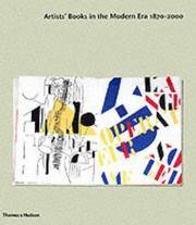 image of Artists Books in the Modern Era 1870-2000
