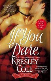 If You Dare (The MacCarrick Brothers, Book 1)