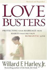 image of Love Busters: Protecting Your Marriage from Habits That Destroy Romantic Love