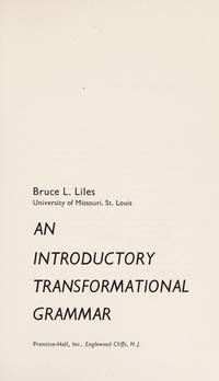 An introductory transformational grammar