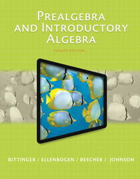 image of Prealgebra and Introductory Algebra Plus NEW MyLab Math with Pearson eText