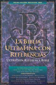 LA Biblia Ultrafina Con Referencias/Ultrathin Reference Bible, Indexed (Spanish Edition)