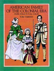 American Family of the Colonial Era Paper Dolls in Full Color