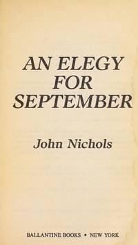 Elegy for September