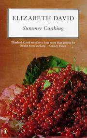 Summer Cooking (Cookery Library) by  Elizabeth David - Paperback - from Better World Books Ltd (SKU: GRP109104584)