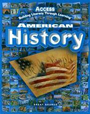 ACCESS American History: Student Edition Grades 5-12 2005