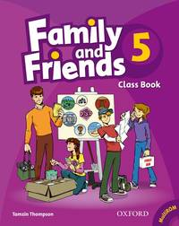 Family and Friends 5: Classbook and Multi-ROM Pack (French Edition)