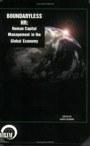 Boundaryless HR: Human Capital Management in the Global Economy