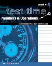 Test Time! Practice Books That Meet The Standards: Numbers & Operations (Test Time! Practice...