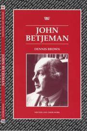 John Betjeman (Writers and their Work) by Dennis 3rown - Paperback - 2010-10-19 - from Ergodebooks (SKU: DADAX0746308957)