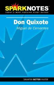 Don Quixote (SparkNotes Literature Guide) (SparkNotes Literature Guide Series) by Miguel de Cervantes - Paperback - 2002-06-06 - from Books Express and Biblio.co.uk
