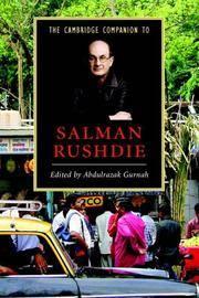 The Cambridge Companion to Salman Rushdie (Cambridge Companions to Literature)