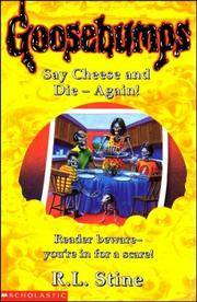 Goosebumps Say Cheese And Die Book