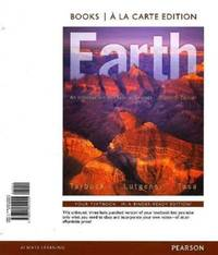 image of Earth: An Introduction to Physical Geology, Books a la Carte Plus MasteringGeology with eText -- Access Card Package (11th Edition)