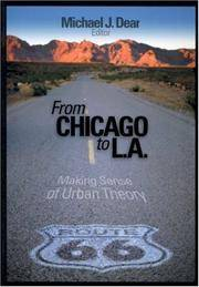 From Chicago to LA. Making Sense of Urban Theory.