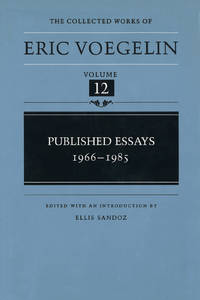 PUBLISHED ESSAYS 1966 -1985  [ COLLECTED WORKS VOL. 12 ]