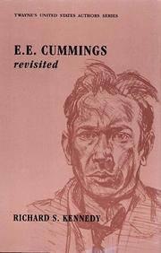 E. E. Cummings Revisited (United States Authors Series)