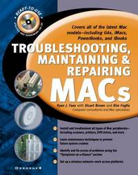 Troubleshooting, Maintaining & Repairing Macs