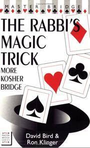 RABBI'S MAGIC TRICK (The): More Kosher Bridge