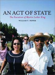 An Act of State: The Execution of Martin Luther King