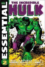Essential Incredible Hulk Volume 2