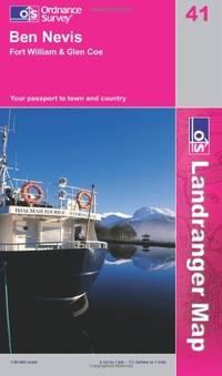 LR041 Ben Nevis, Fort William and Glen Coe (Landranger Maps) (OS Landranger Map) by Ordnance Survey - from Better World Books Ltd and Biblio.com